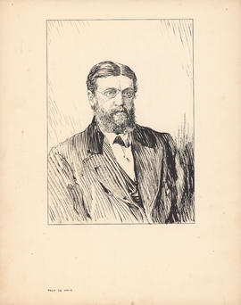 James DeMille, M.A. Professor of English, 1865–1880 : [drawing]