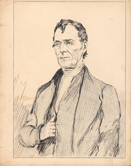 Rev. Thomas McCulloch, D.D. First president, 1838–1843 : [drawing]