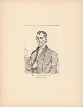Rev. Thomas McCulloch, D.D.  First president, 1838–1843 : [print]