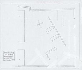 2b theatre company revised ground plan for East of Berlin, directed by Christian Barry and design...