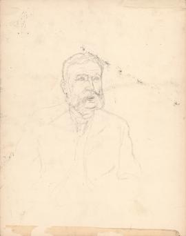 Unfinished Arthur Lismer sketch of George Lawson : [drawing]