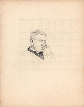 Unfinished Arthur Lismer portrait of Allan Pollock commissioned for One hundred years of Dalhousi...