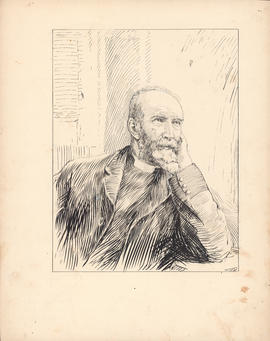 Rev. George Munro Grant, D.D. One of the Fathers of Reorganization in 1863 : [drawing]