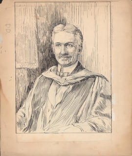 Arthur Lismer portrait of Arthur Stanley Mackenzie commissioned for One hundred years of Dalhousi...